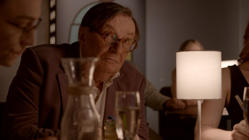 Barry Humphries in 'Standing Up for Sunny - DOP Mark Bliss