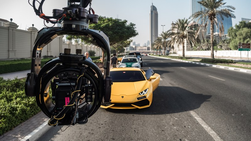Downtown Dubai, Spacecam Maximus 7 remote Head with Alexa Mini and Alura 18-80 - PHOTO Supplied