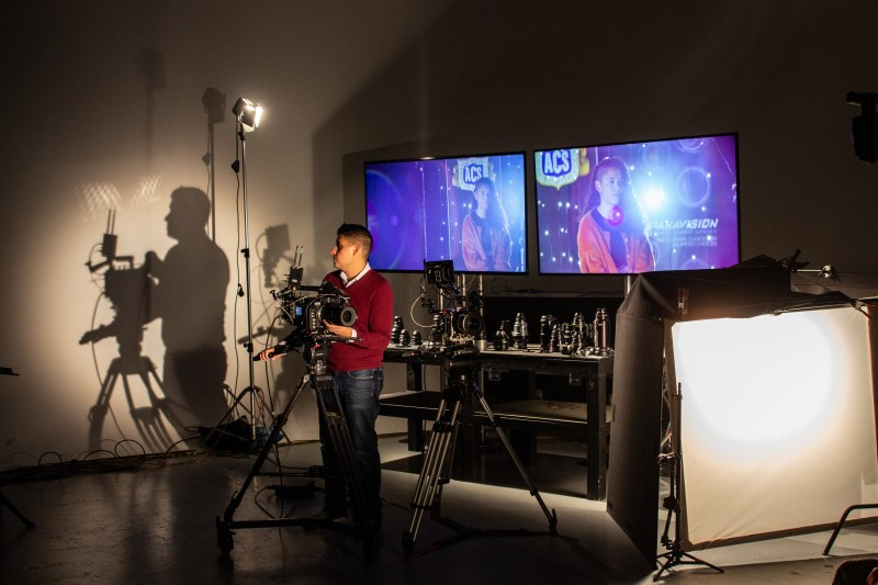 Nic Godoy from Panavision Australia presents the Large Format Workshop in Adelaide - PHOTO JoAnne Bouzianis-Sellick