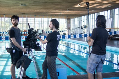 Behind-the-scenes on 'Lane 4' - PHOTO Tuane Eggers