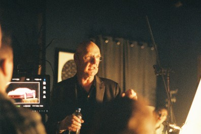 Bill Bennett ASC at the ASC Masterclass - PHOTO Claire Bishop