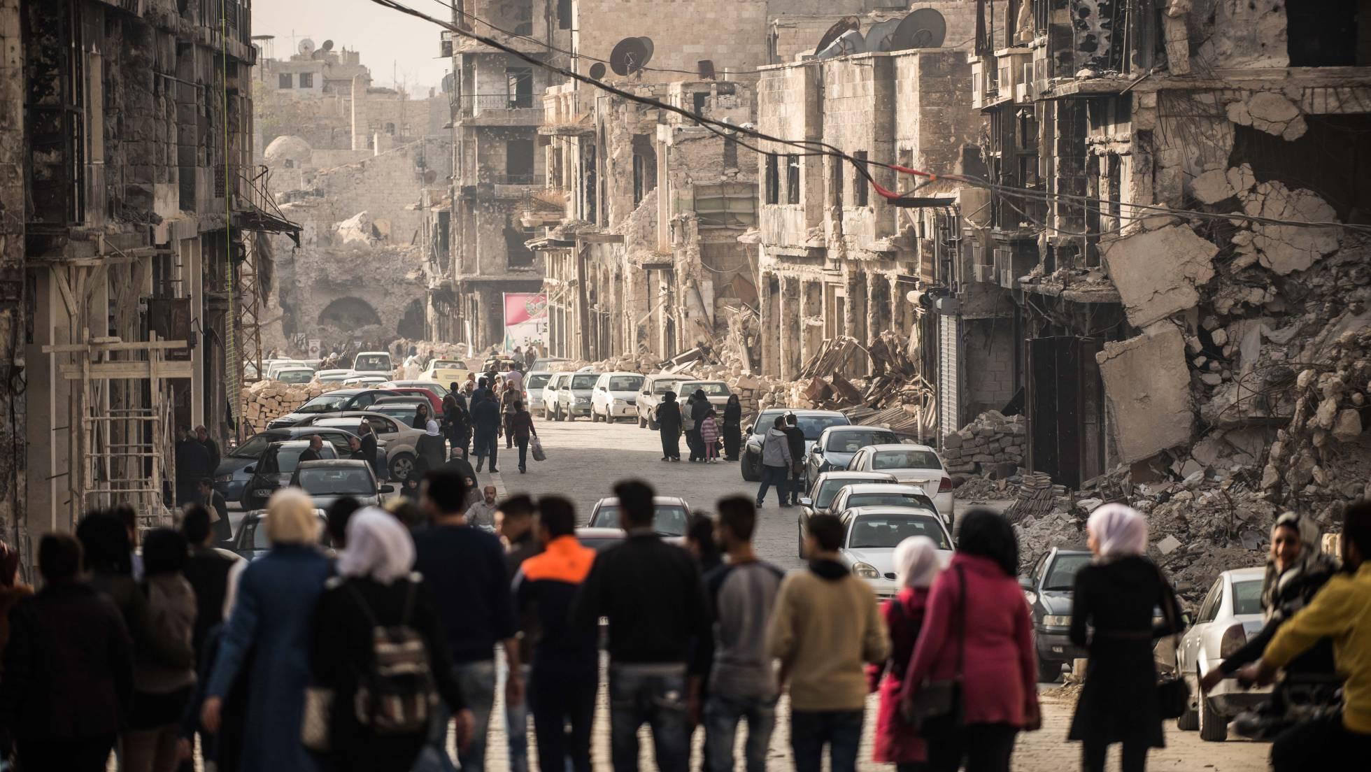 Síria e os sírios começam reconstruir-se
