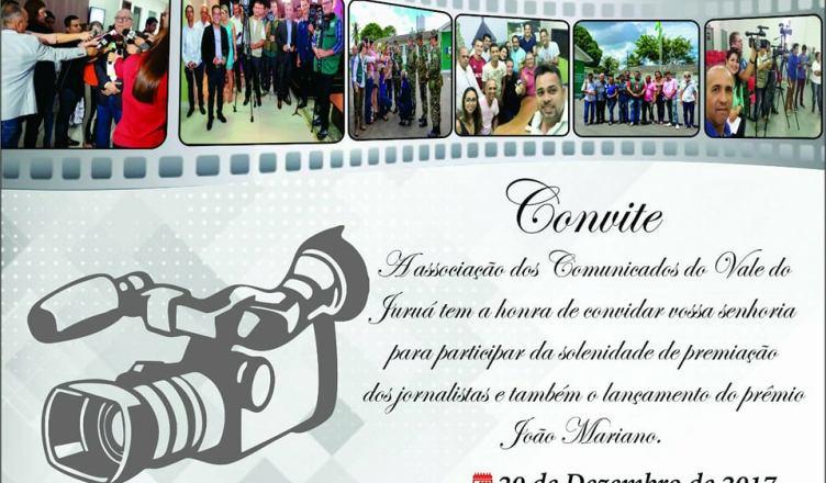 CRUZEIRO DO SUL: Associação dos Comunicadores do Juruá premia jornalista da região nesta quarta feira