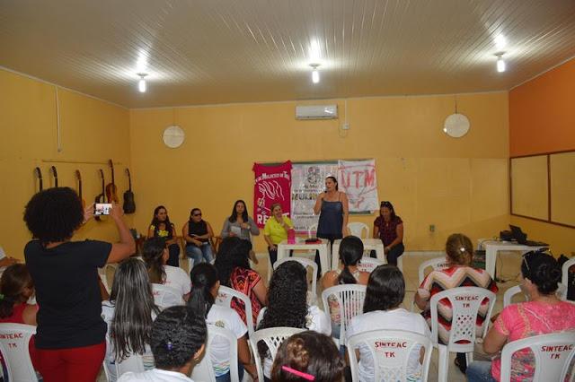 TARAUACÁ: Mulheres se reúnem e discutem organização e luta