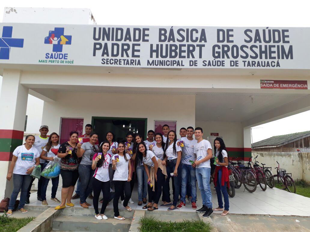 TARAUACÁ: Secretaria de Saúde realiza nos principais bairros da cidade o projeto 'caminhando longe das IST'