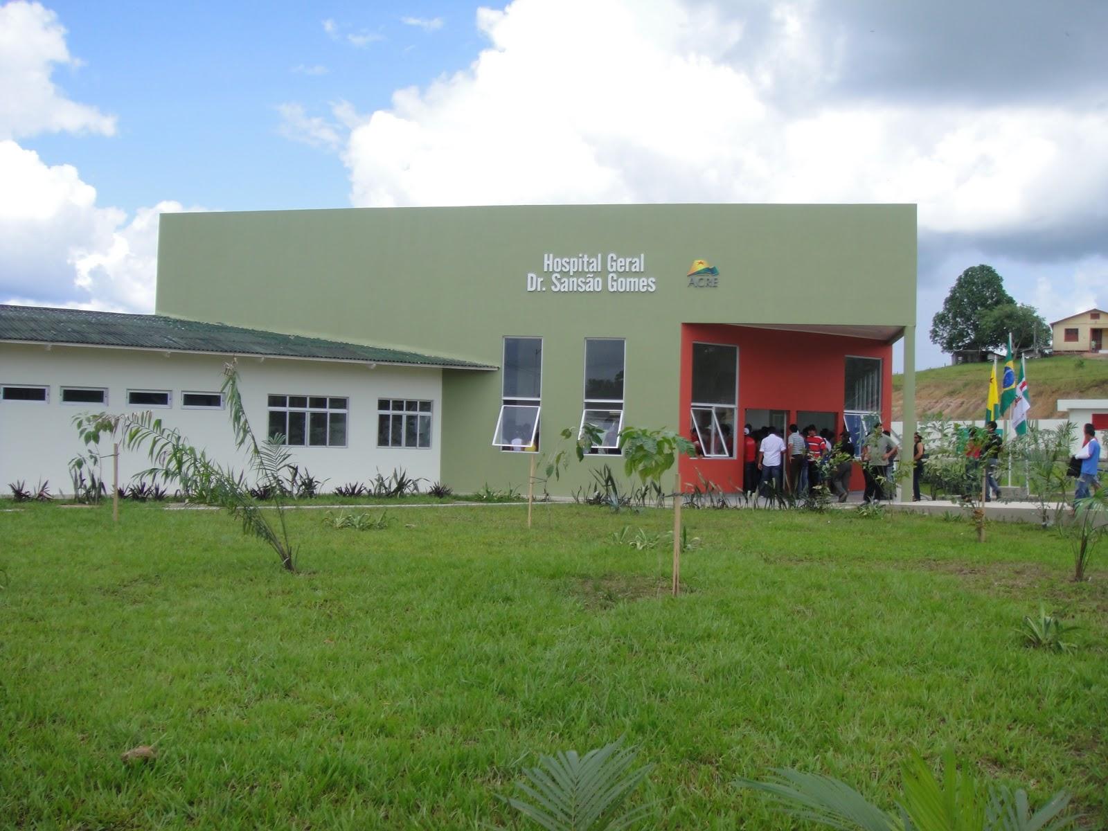 No interior; Hospital Dr. Sansão Gomes não dispõe de ambulância e Polícia Militar é quem socorre população