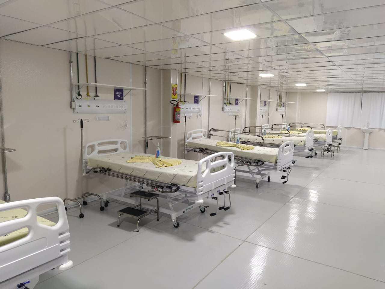 Hospital de Campanha de Cruzeiro do Sul está pronto