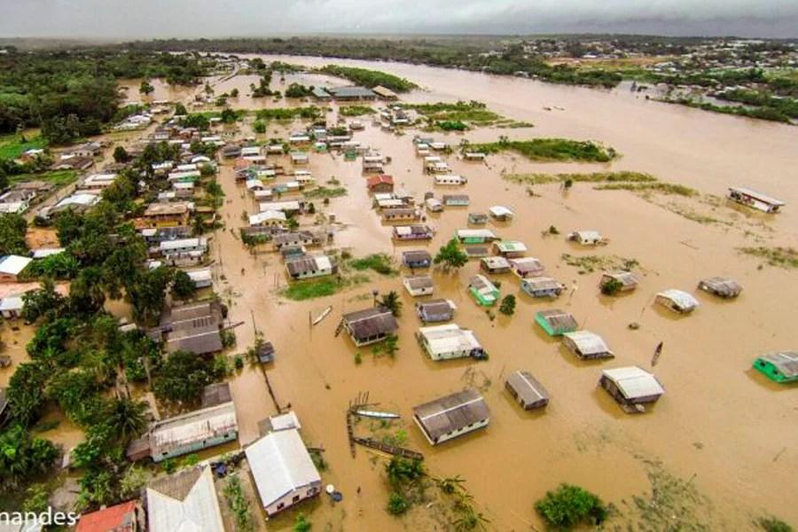 Desastres causaram quase R$ 2 milhões de prejuízos ao Acre