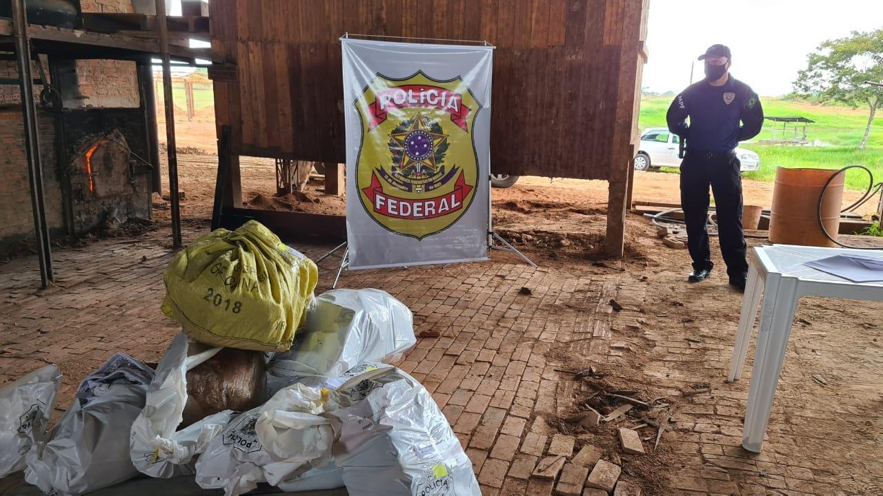 Polícia Federal incinera 274 quilos de drogas apreendidas em Rio Branco