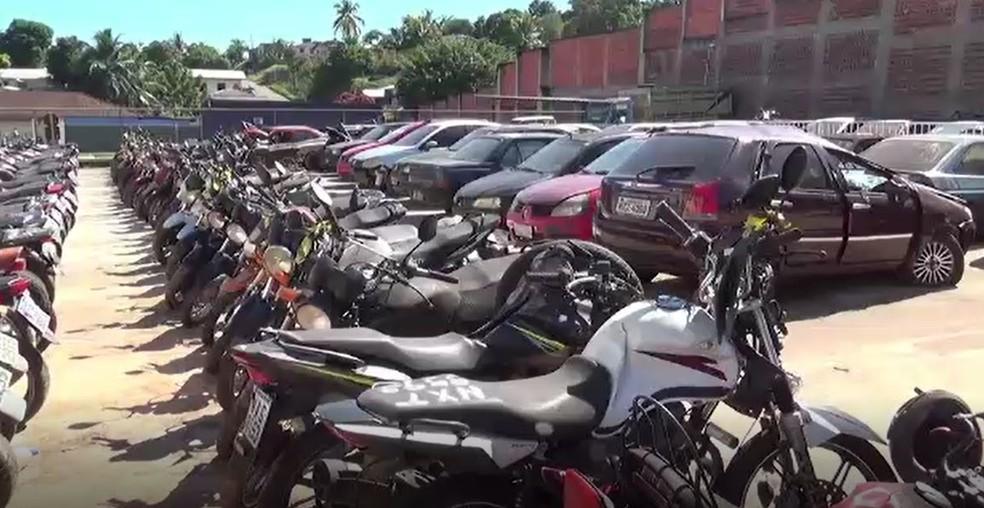 Ciretran abre inscrições para leilão de 152 veículos apreendidos em Cruzeiro do Sul