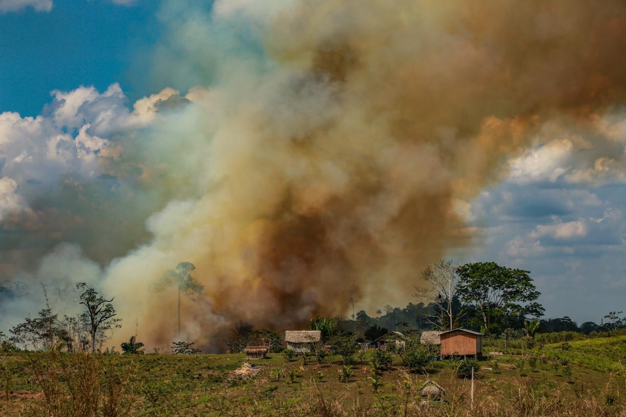 Feijó é um dos 10 municípios brasileiros com mais focos de queimadas em 2021