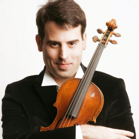 Amaury Coeytaux, violin