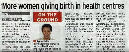 Maternal mortality NV