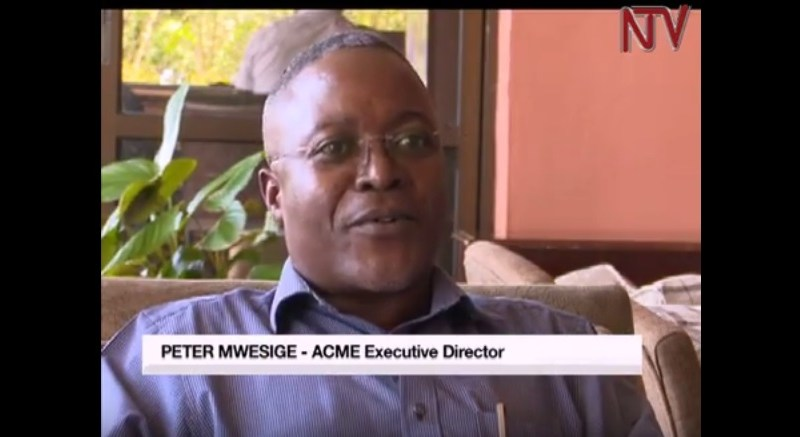 NTV interview with ACME ED Peter Mwesige