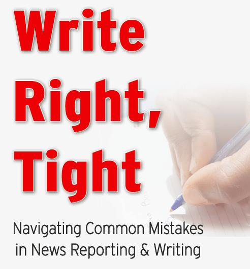 Write Right, Tight book cover