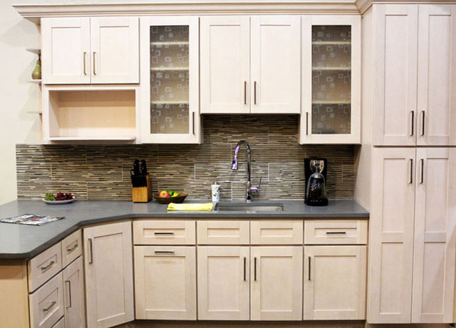 New Shaker Kitchen Cabinet Doors An Affordable Remodeling