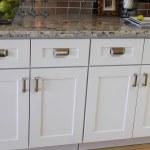 White Shaker Kitchen Cabinet Doors With Chrome Handles Acmecabinetdoors Com