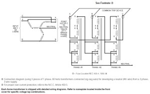 "Does Acme provide ""ZigZag"" Grounding Transformers? | Acme FAQ"