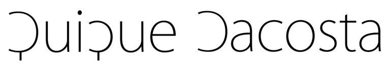 Resultado de imagen de quique dacosta logo
