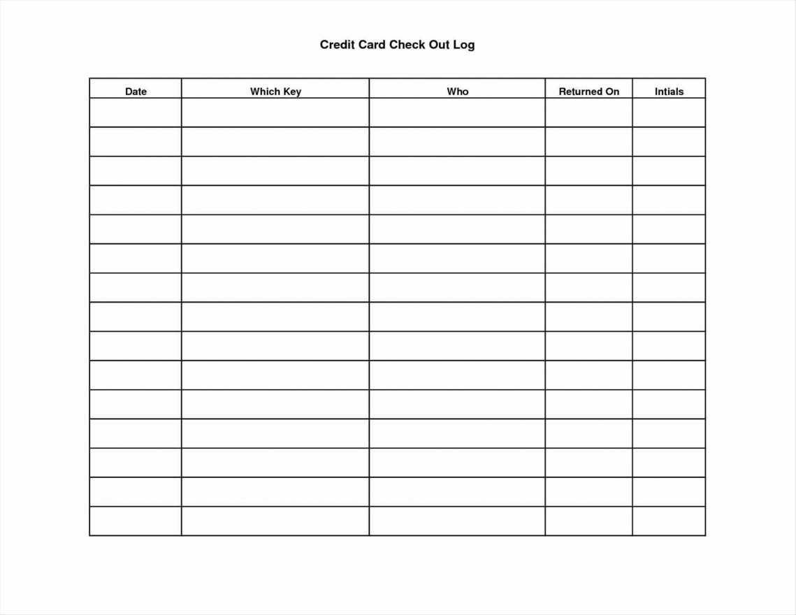 Balance Sheet Printable