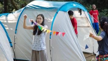 Tent decoration