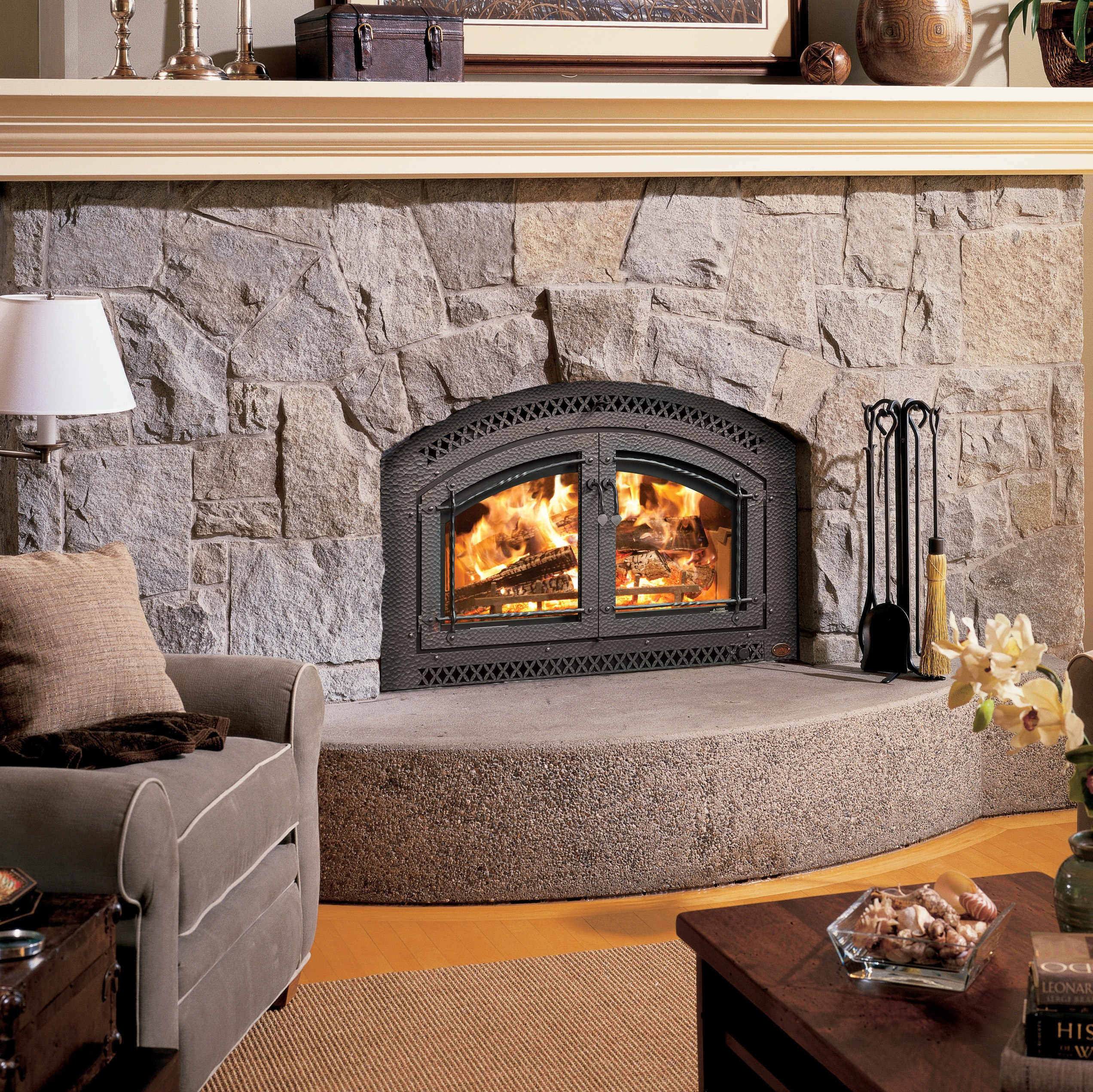 Fireplace X 44 Elite Wood Fireplace Acme Stove