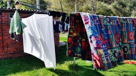 Caravan Park Laundry area