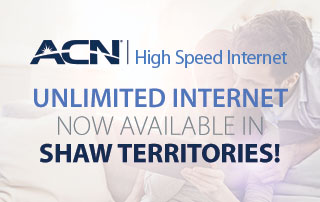 Unlimited Internet in Shaw Territories