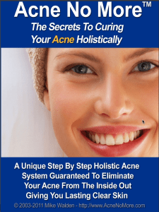 Acne No More 225x300 - Quick Acne Treatments Exposed: The Truth Behind Miracle Acne Cures