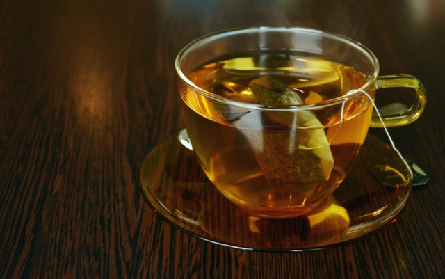 green tea for acne scars