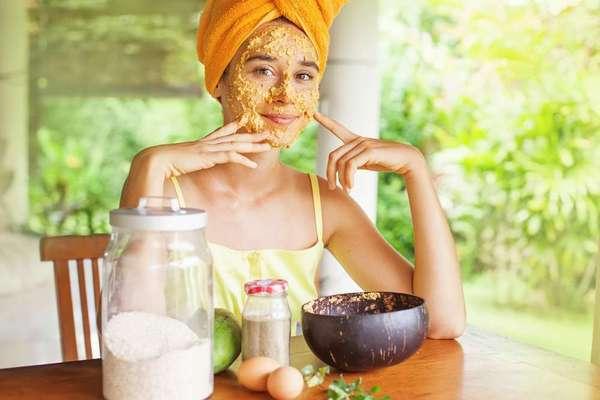 tea tree oil with papaya for acne scars