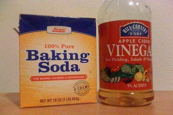 baking soda and apple cider vinegar for blackheads