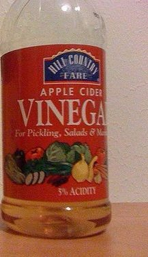 Apple cider vinegar for whiteheads on chin