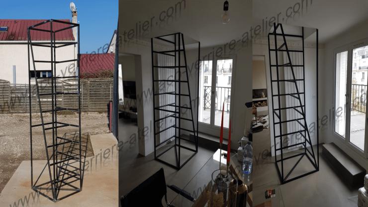 Escalier échelle moderne esprit cage