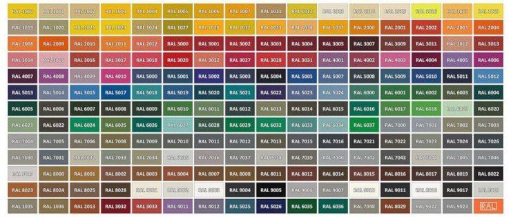 NUANCIER RAL - couleurs