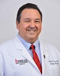 David E. Garza, DO, MS, MEdL, FACOFP