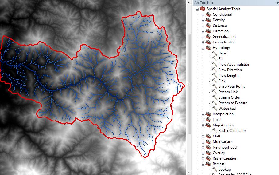 Delimitar cuenca en ArcGIS