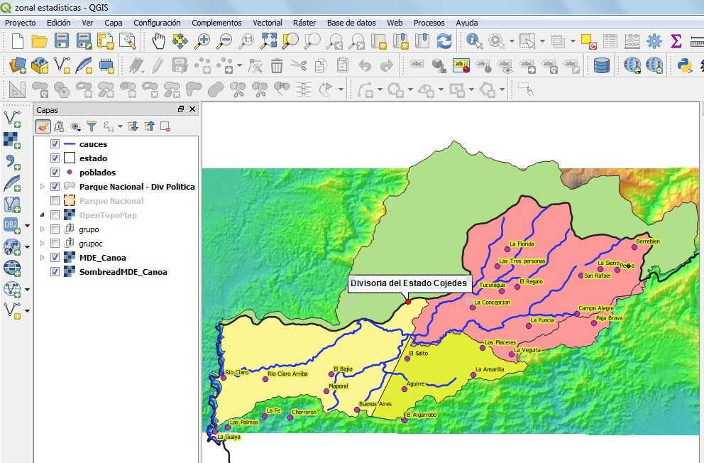 Estadísticas zonales para diagnósticos ambientales en QGIS 3 | El ...