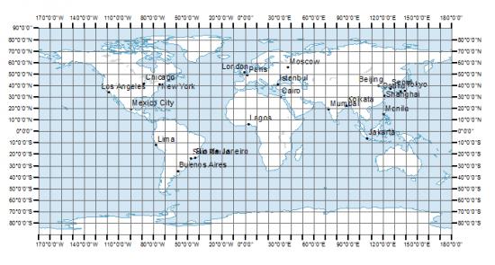 Cuadriculas De Latitud Longitud Y Sistema De Coordenadas El Blog De Franz