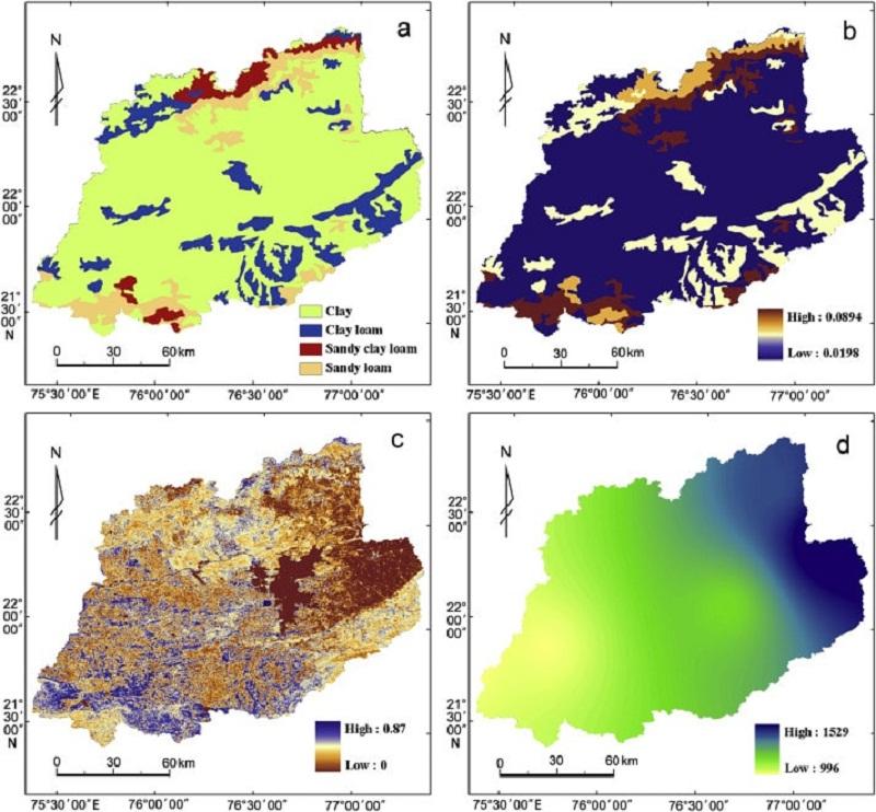 Mapas de erosión del suelo