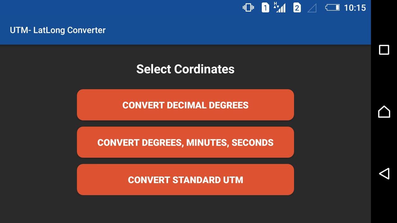 App para convertir coordenadas UTM y Geográficas | El blog de franz