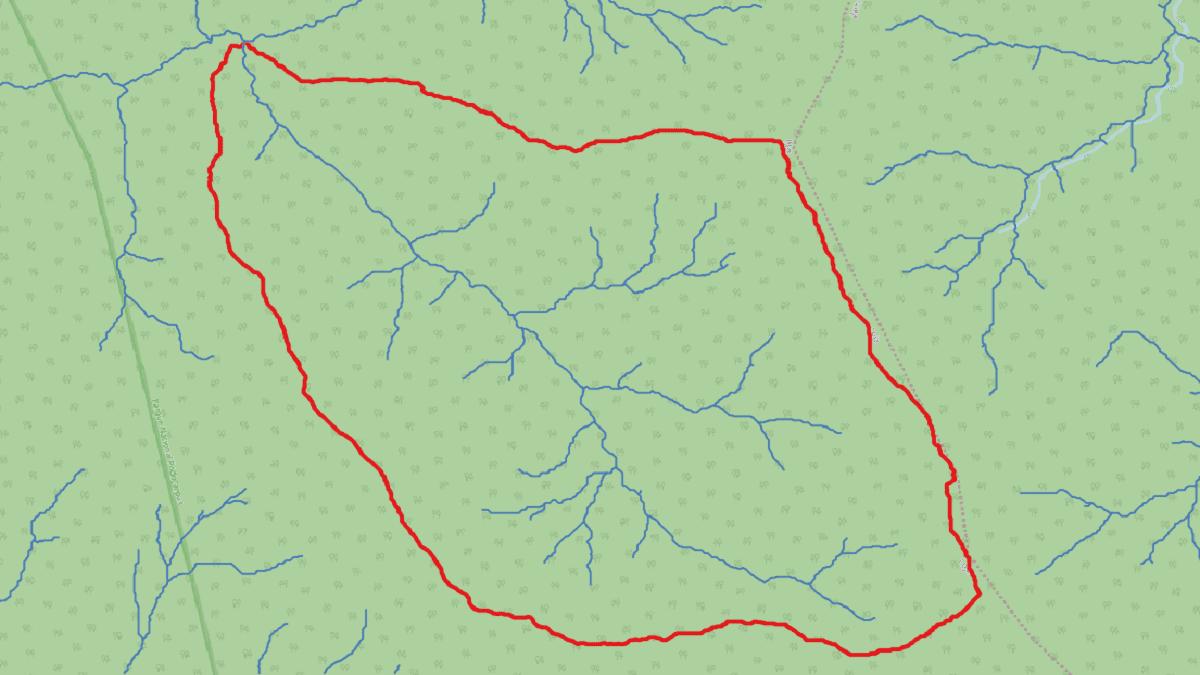 Delimitar automáticamente una cuenca hidrográfica en QGIS 3