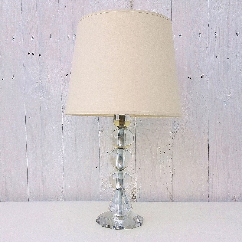 lampe style jacques adnet verre