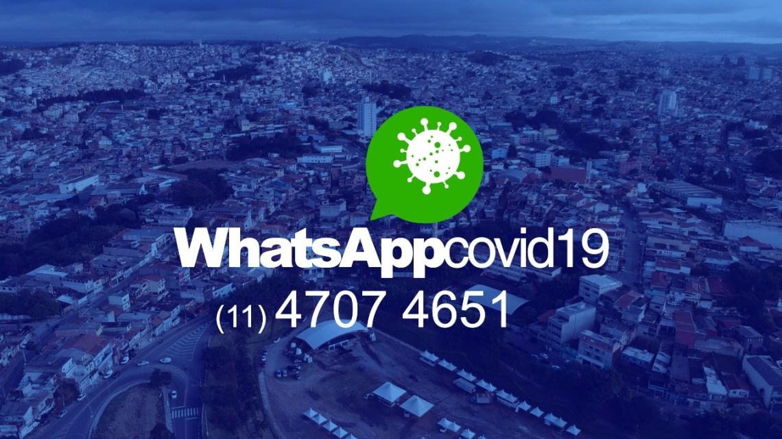 Prefeitura de Jandira lança WhatsApp para tirar dúvidas sobre o coronavírus