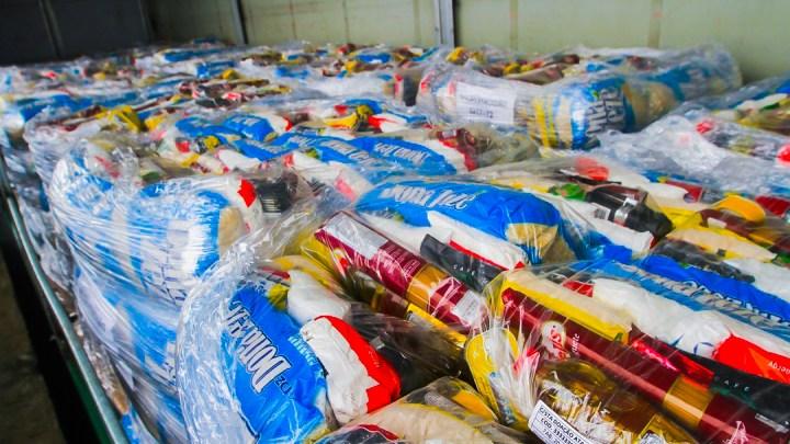 Fundo Social recebe doação de 1.260 cestas básicas