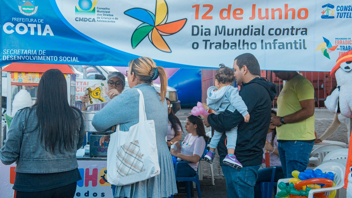 Combate ao trabalho infantil: Cotia amplia a rede de atendimento social às famílias