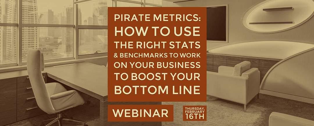 Webinar: Pirate Metrics