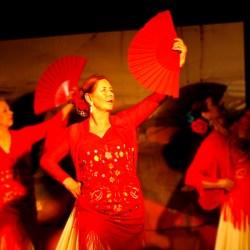 Flamenco mit Fächer