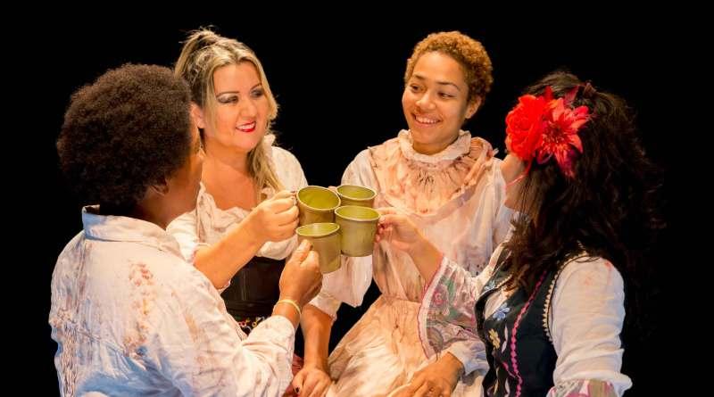 Espetáculo As Mulheres do Aluá é atração do Palco Giratório