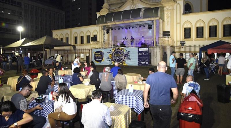 Praça do Coreto sedia mais uma edição do Sexta no Centro